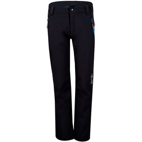TROLLKIDS Fjell Softshell Pants Kids, black/med blue